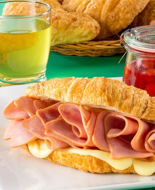 Receta saludable sandwich gourmet