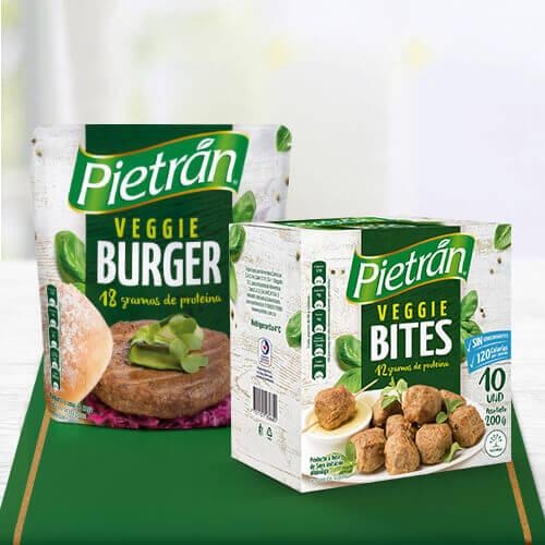 Productos de proteína vegetal Pietrán