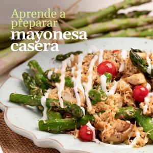 Prepara tu propia mayonesa casera