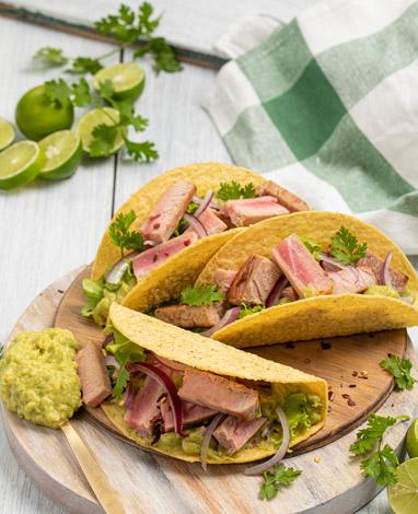 Tacos de Atún Natural