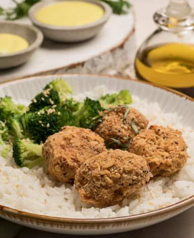 Receta saludable de Veggie Nuggets Pietrán con brócoli
